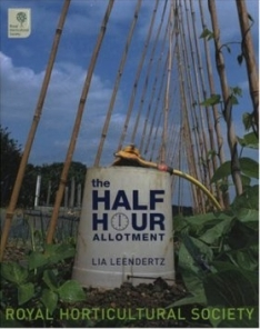 Gardening book, The Half Hour Allotment by The Royal Horticultural Society.