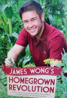 Gardening book, Homegrown Revolution by James Wong.